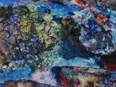 Abstractie van de middellandse zee